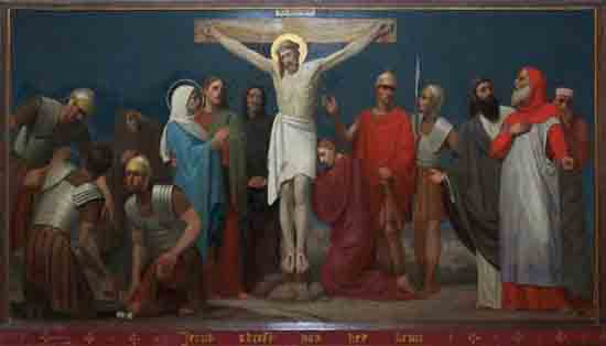 Kruisweg 12. Jezus sterft aan het kruis<br><br> 5012_Kruiswegstaatsies_4596.jpg