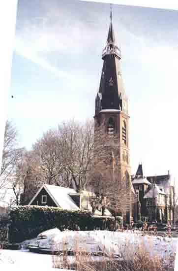 Oude-Opnames Een winters 1999, niet echt historisch<br>maar is toch wel een sfeervolle foto<br><br> 8120_Historisch_Bovenkerk_Urbanuskerk-1999.jpg