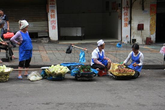 Kaili Verkoopsters op straat<br><br> 0050_1259.jpg
