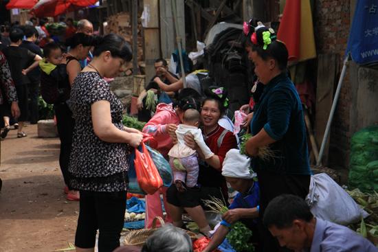 Kaili Miao markt in Kaili<br><br> 0090_1277.jpg
