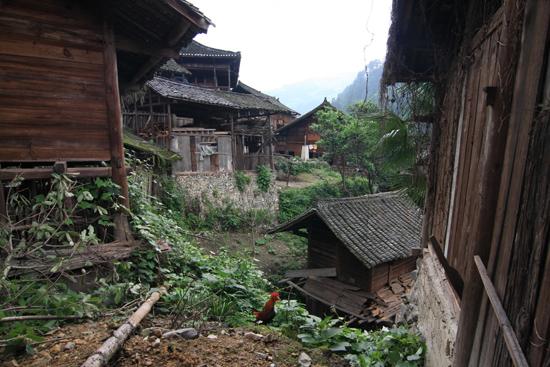 Langde Alle gebouwen zijn vrijwel geheel van hout gebouwd<br><br> 0530_1529.jpg