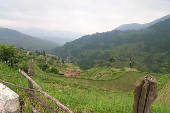 Datang Rijstterrassen op weg naar Rongjiang<br><br> 0730_1640.jpg