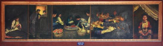 Sanboa Schildering in Drum Tower Sanboa Dong village<br><br> 0840_1718.jpg