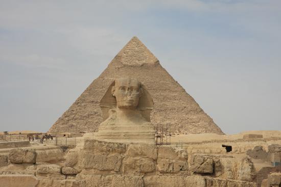 Gizeh Sfinx van Gizeh / Giza 0180-Gizeh-Gizah-pyramides-1818.jpg