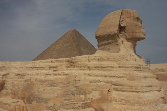 Gizeh Sfinx van Gizeh / Giza 0190-Gizeh-Gizah-sfinx-1822.jpg