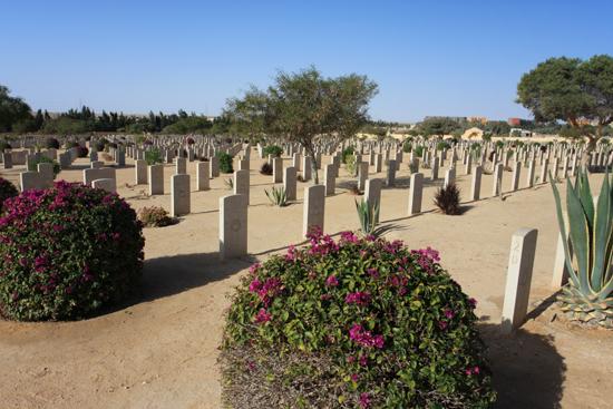 Alexandrie2 Begraafplaats voor in WO II gesneuvelde militairen van het Gemenebest in de Slag bij El Alamein 0470-El-Alamein-war-cemetry-2060.jpg