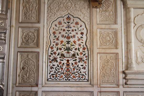 Amritsar1 Mozaïk in marmer<br><br> 0040-Amritsar-Gouden-Sikh-tempel-2416.jpg
