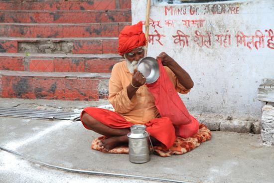 Jammu Holy man - Streetlife <br><br> 0480-Jammu-Kashmir-2830.jpg