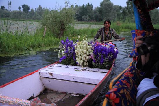 Srinagar1 Bloemenpraam<br><br> 0900-Nagin-Lake-Srinagar-Kashmir-3192.jpg