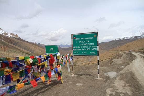 Lamayuru1 Fatula / Photu La Pass (4094m)<br>Toch weer 300m hoger<br><br> 2140-Fatula-La-Pass-Ladakh-4071.jpg