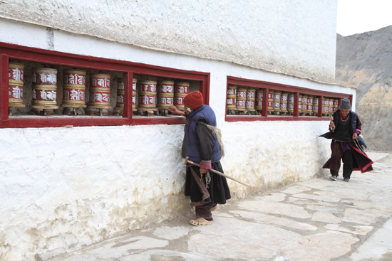Lamayuru2 Gebedsmolens<br><br> 2220-Lamayuru-Ladakh-4143.jpg
