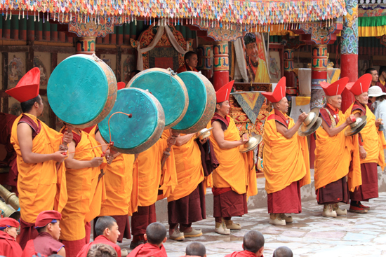 Hemis kloosterfestival, Kashmir India