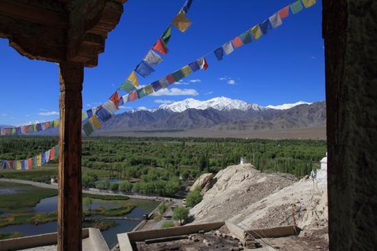 Shey De kloosters zijn altijd op mooie locaties gebouwd<br><br> 2880-Shey-klooster-Ladakh-4647.jpg