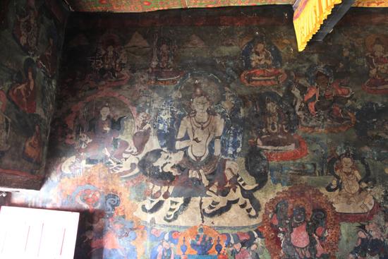 Shey Wandschilderingen in het Shey-klooster<br><br> 2910-Shey-klooster-Ladakh-4654.jpg