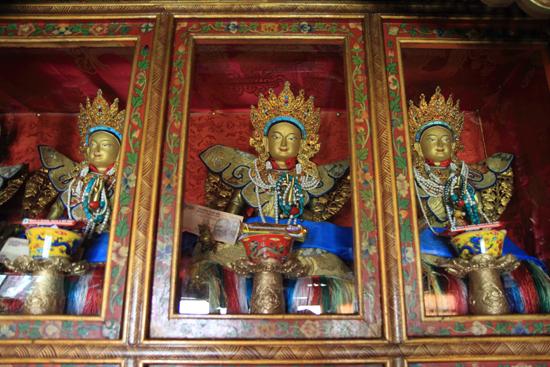 Matho Einde van heel veel kloosterbezoeken<br><br> 3490-Spituk-klooster-Ladakh-4929.jpg
