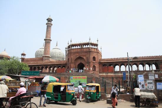 Ladakh-Delhi Aangekomen bij de Jama Mashid moskee<br><br> 3930-Jama-Mashid-Delhi-5156.jpg