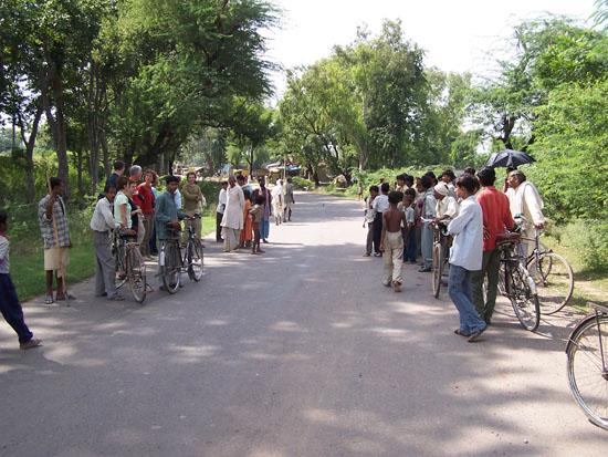 Naarvaranasi India meets Holland !Als we het goed begrepen hebben waren wede eerste