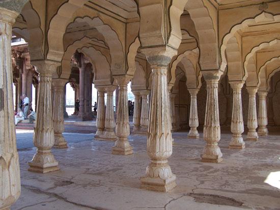 Jaipur Alles marmer in het Amber Fort Amber-Fort-Jaipur_3629.jpg