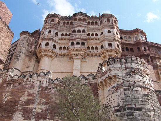 Jodhpur2 Het indrukwekkende Mehrangarh Fort (1453) Mehrangarh-Fort-Jodhpur_3174.jpg