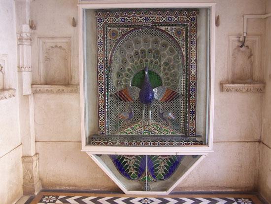 Udaipur Kroonjuweeltje van moza�ekkunst Mozaik-City-Palace-Udaipur_3399.jpg