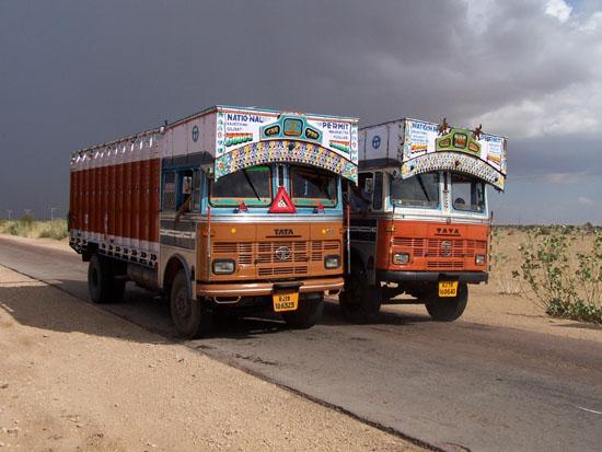 Thar desert truckers