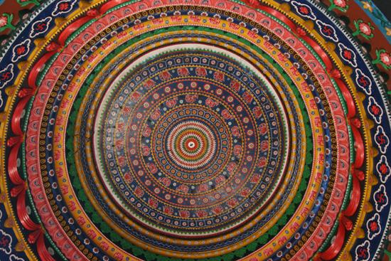Koraput Decorated dome Nog een gedecoreerde koepel 3470_5646.jpg