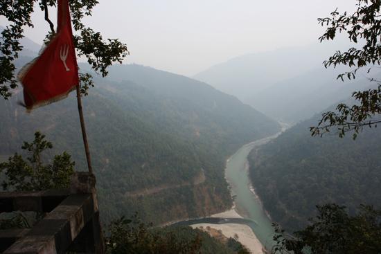 Pelling Triveni uitzichtpunt - Kalimpong<br>Onderweg van Darjeeling naar Pelling<br><br> 0180_3431.jpg
