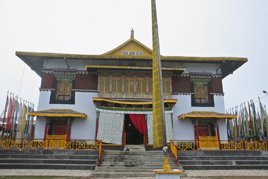 Pelling Pemayangtse Gompa / Monastery (2105 m) vlakbij Pelling<br>Een van de oudste kloosters in Sikkim<br><br> 0240_3497.jpg