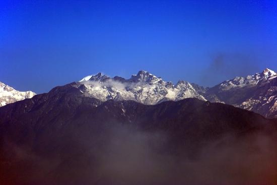 Pelling Imponerend uitzicht op Kanchenjunga en omgeving vanuit Pelling<br><br> 0265_3512.jpg