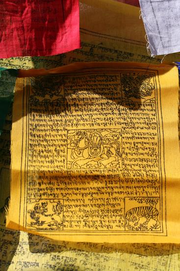 Khecheopari Enkele van de gebedsvlaggen<br><br> 0410_3629.jpg