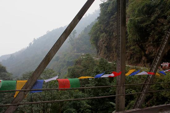 Labrang Toegangsbrug tot Noord - Sikkim<br><br> 0710_3807.jpg