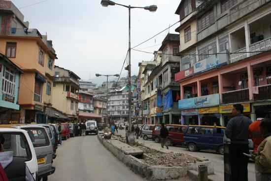 Gangtok Gangtok centrum <br><br> 1110_4031.jpg