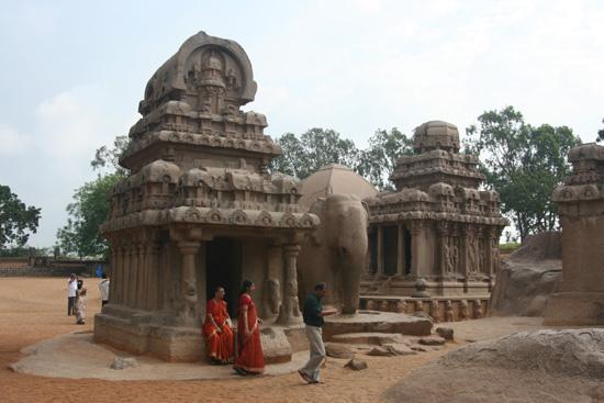 Mamallapuram Prachtig beeldhouwwerk in zandsteen IMG_6346.jpg