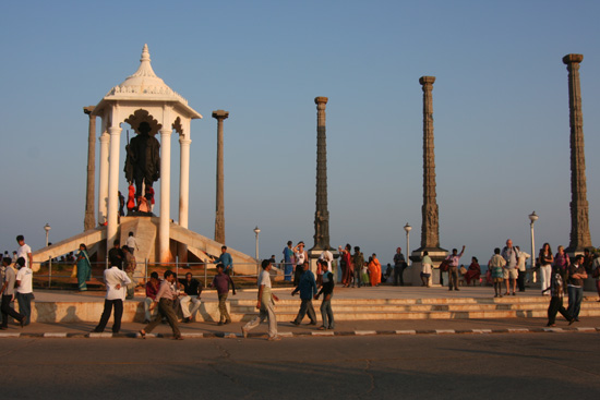 Pondicherry Gandhi Memorial op de boulevard IMG_6411.jpg