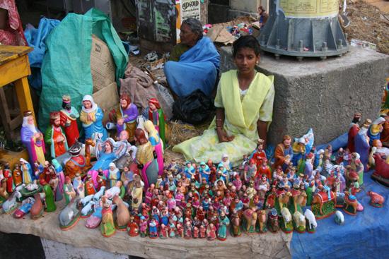 Pondicherry Beeldjes voor de kerststal te koop aangeboden IMG_6418.jpg