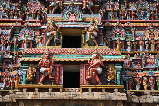Tiruchirappalli Detailopname van de gevel IMG_6438.jpg