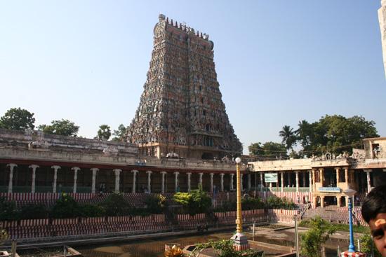Madurai Golden Lotus Tank (vijver) in binnenplaats IMG_6610.jpg