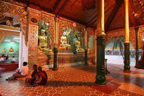 Yangon Myanmar Shwedagon pagode