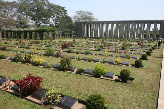 Yangon2 Ten noorden van Yangon  Britse begraafplaats 1939 Taukyan War Cemetry 1945   0510_7924.jpg