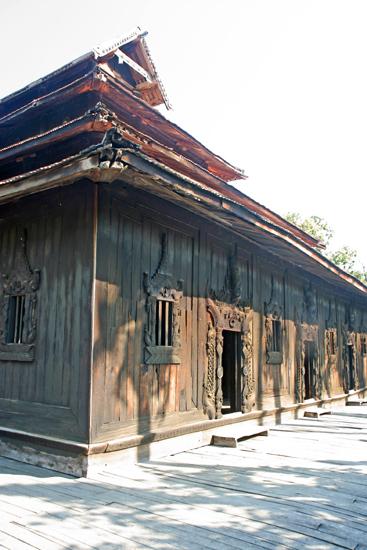 Ava Ava Teakhouten Bagaya Kyaung klooster (1834)   1090_5438.jpg