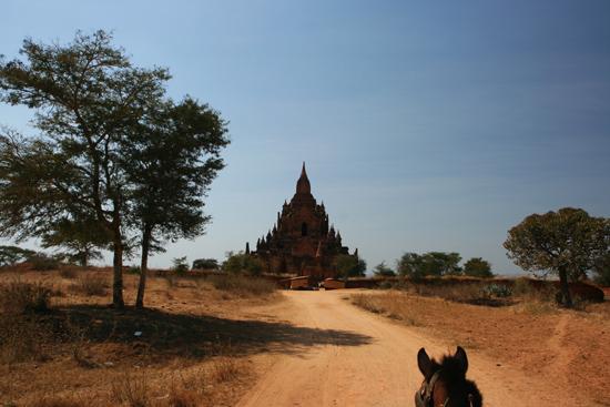 Bagan2 Over zandpaden door het agrarisch landschap naar de volgende pagode   2000_6187.jpg