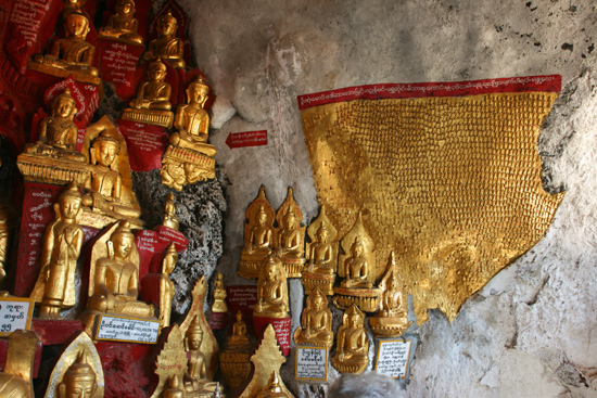 Pindaya Pindaya - De Pindaya Caves Meer dan 8.000 Boeddha afbeeldingen   2860_6832.jpg