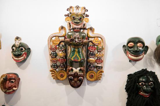 Ambalangoda Museum voor dansmaskers-0250