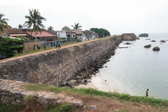 Galle Het Flag Rock fort uit de VOC-tijd-0330