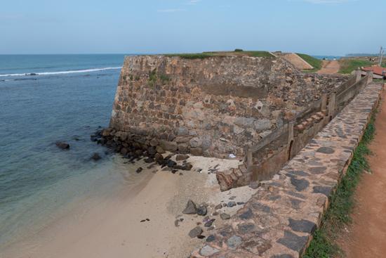 Galle Het Flag Rock fort uit de VOC-tijd-0350