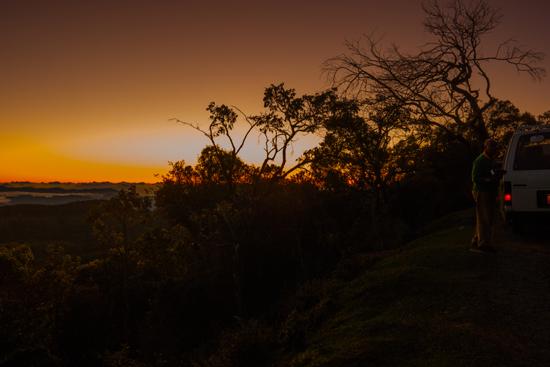 Horton Plains De zon komt op-1870