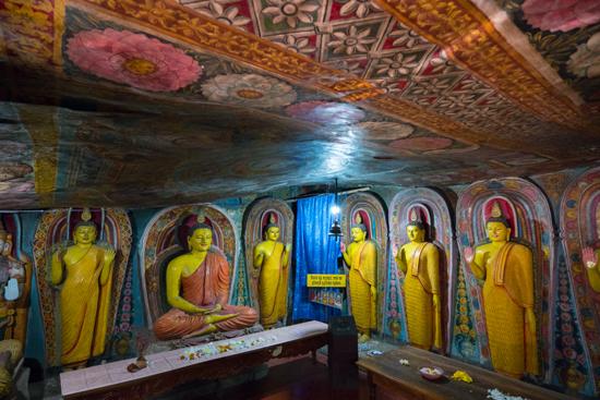 Aluviharaya Rotstempel  Prachtige muur- en plafondschilderingen-2480