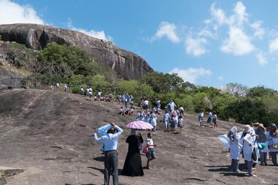 Dambulla Grottempels<br Mooi uitzicht na nieuwe klimpartij-2870
