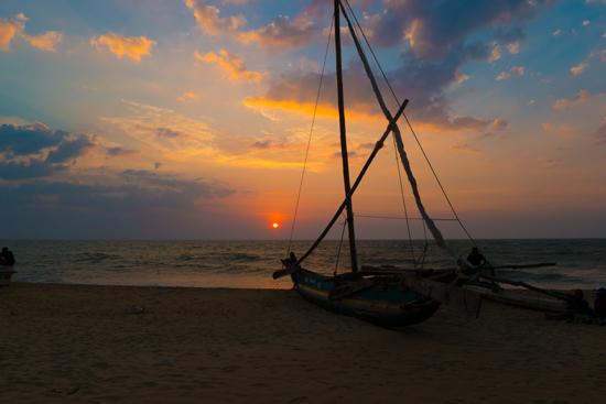Negombo bij zonsondergang-4130