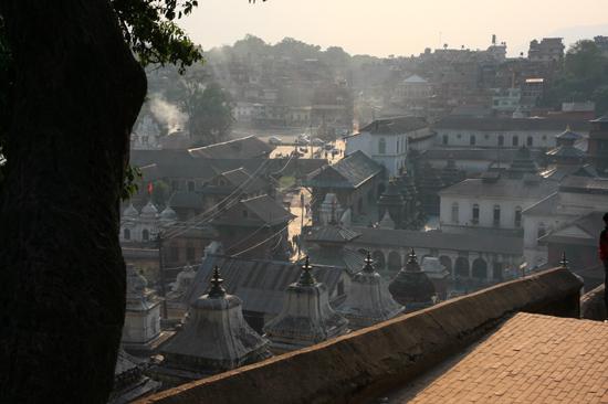 Pashupatinath temple near Bagmati river in Kathmandu-0430